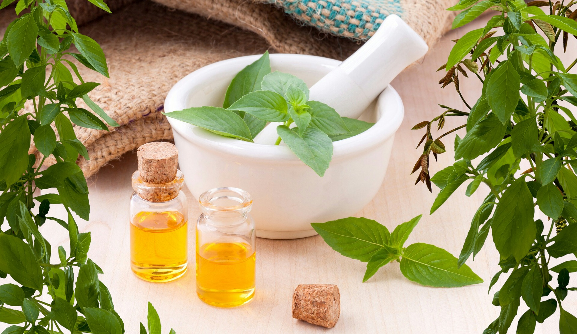 Essential Oils and Natural Medicine
